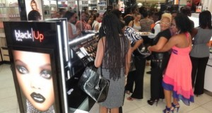 Black Up Cosmetics make up event in Barbados